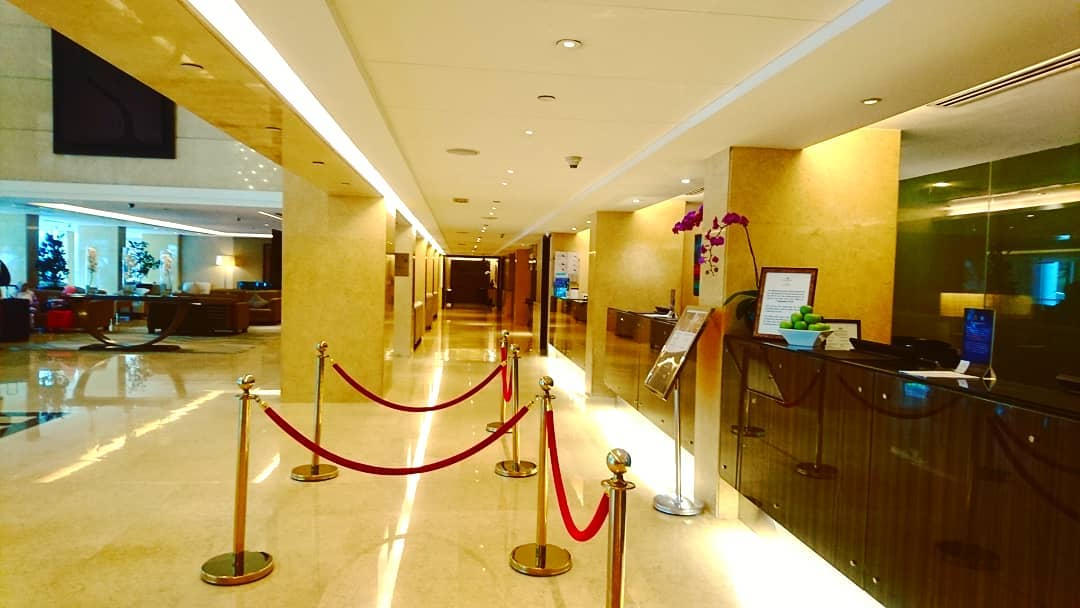 Impiana KLCC Hotel Reception Area