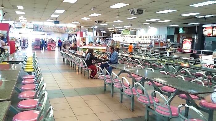 Malaysia to Singapore Bus @ Yong Peng Coffeeshop