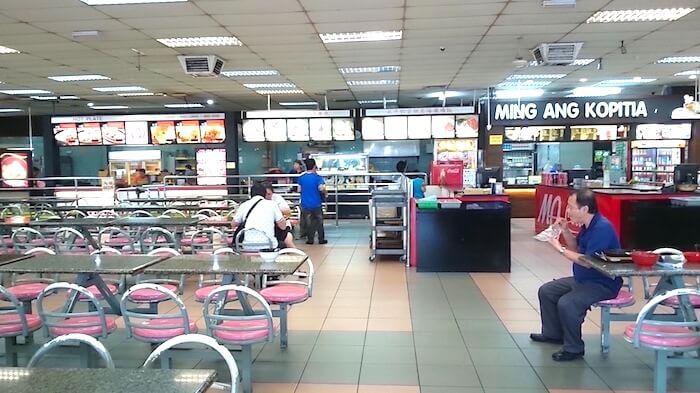 Singapore to Malaysia Bus @ Yong Peng Coffeeshop