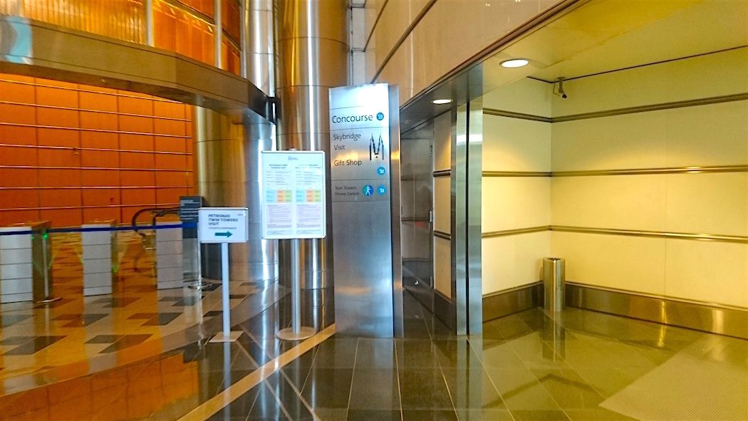 Suria KLCC Concourse @ Basement Level is where you get your Petronas Towers Tour Tickets