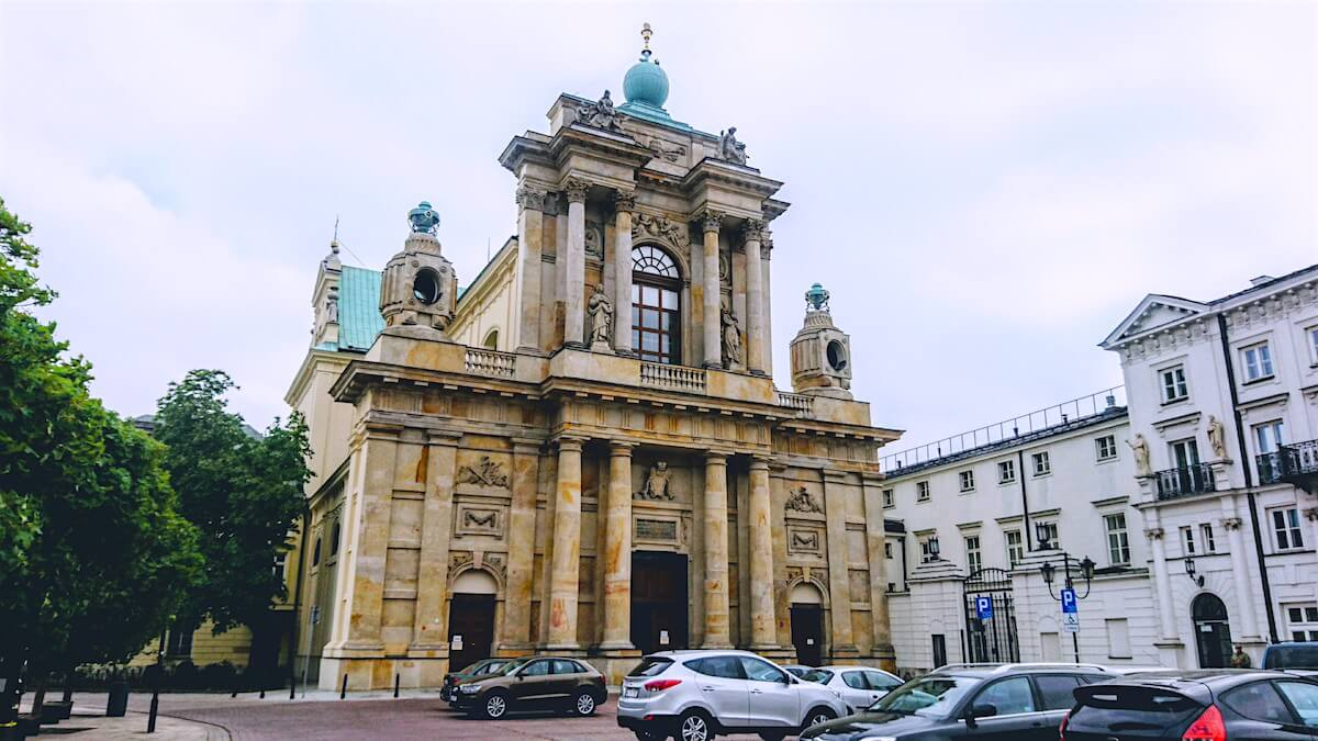 Warsaw Attraction: Carmelite Church (Kościół pw. Wniebowzięcia NMP i Świętego Józefa)