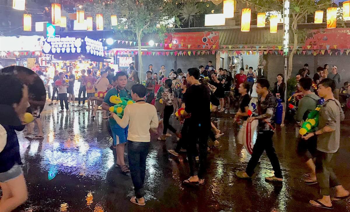 Khmer/Cambodian New Year - Songkran Cambodia: Water Warfare