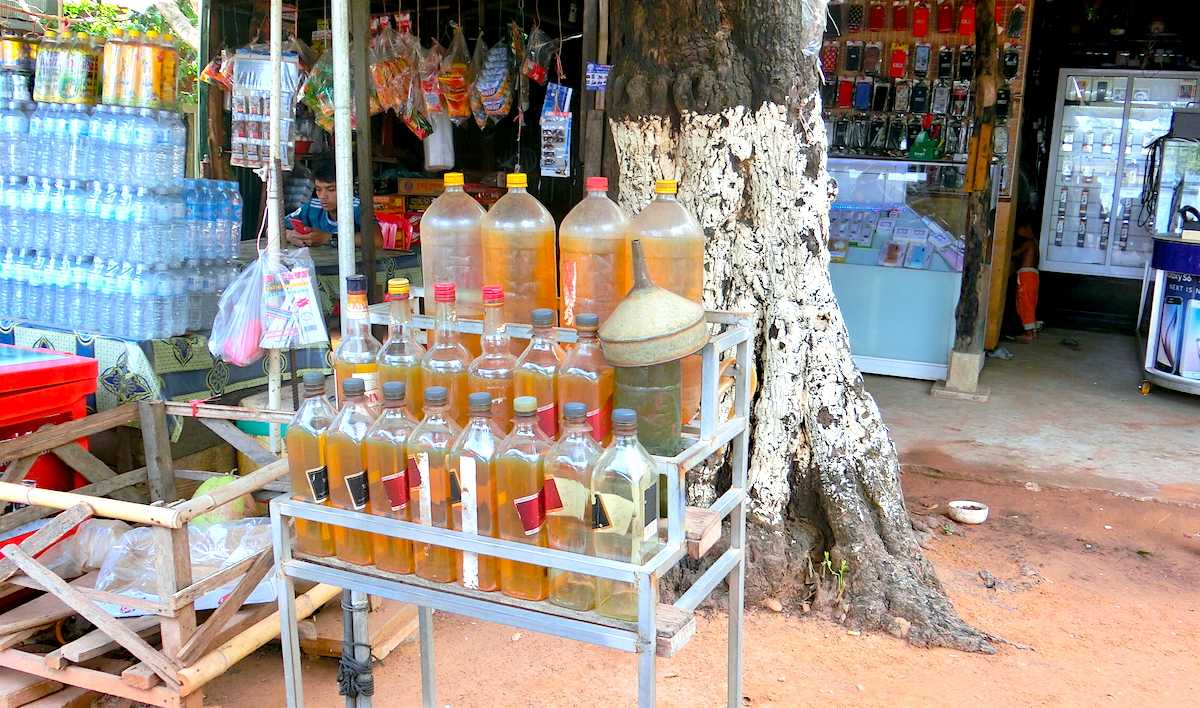 Petrol for Motorbike and Tuk Tuk in Siem Reap