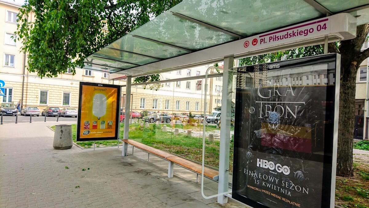 Warsaw Pl. Piłsudskiego Bus Stop