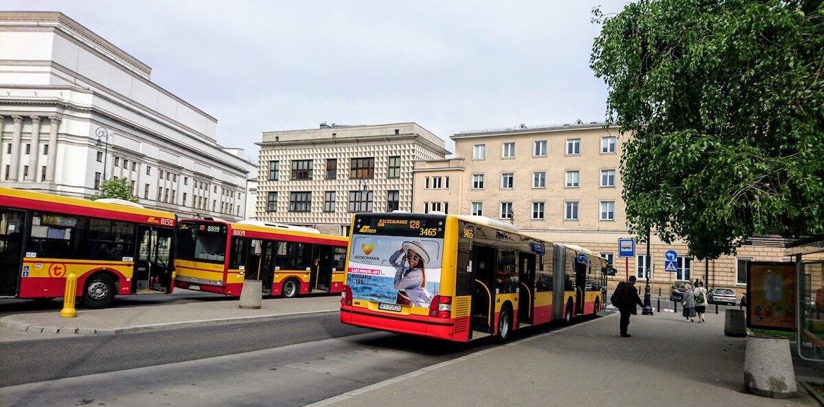 Plac Piłsudskiego Bus Stop