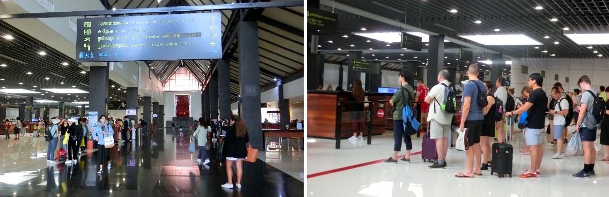 Siem Reap International Airport Arrival Hall (REP)