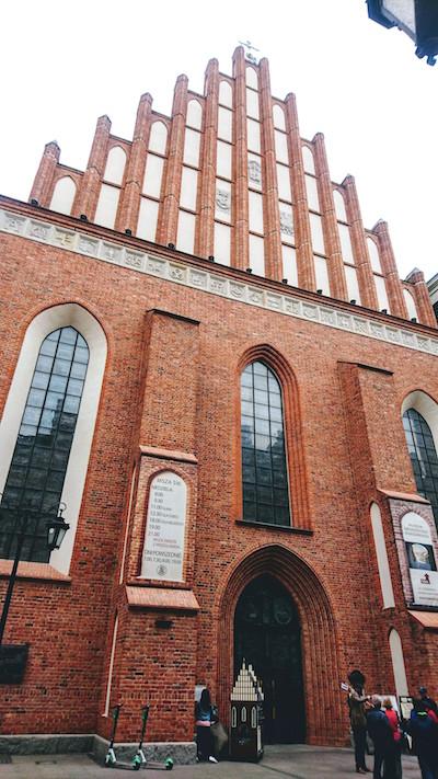 Warsaw Attraction: Visit St. John's Archcathedral (Bazylika Archikatedralna w Warszawie p.w. Męczeństwa św. Jana Chrzciciela)