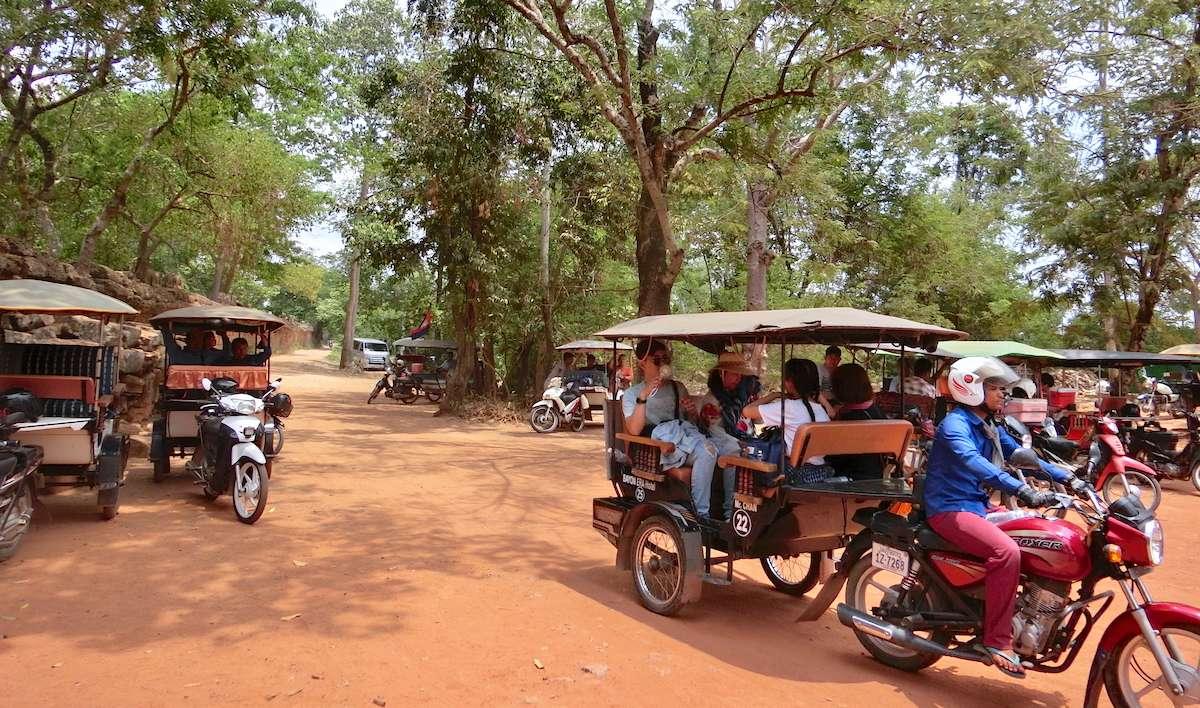 Tuk Tuk Cambodia @ Siem Reap