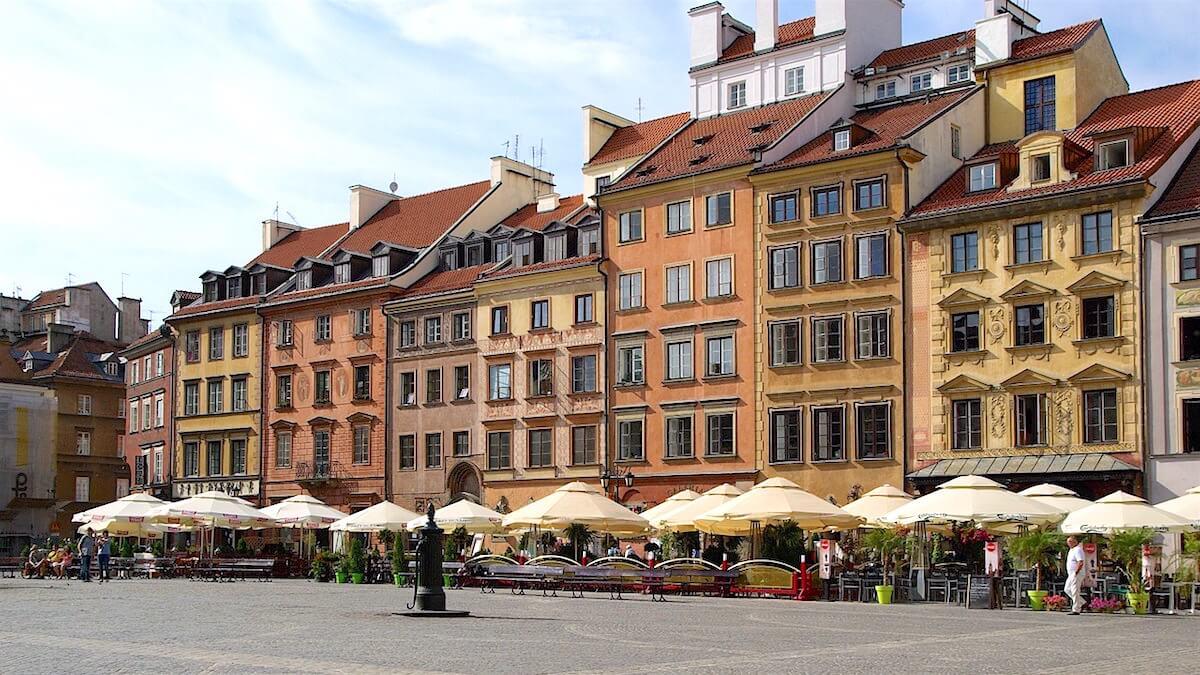 Warsaw Attraction: Walk Around Old Town Market Square (Rynek Starego Miasta Warszawa))