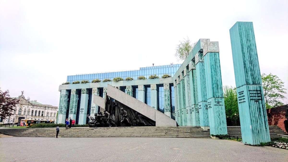 Things to See in Warsaw: See the Warsaw Uprising Monument (Pomnik Powstania Warszawskiego)