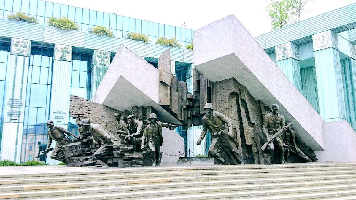 What to See in Warsaw: See the Warsaw Uprising Monument (Pomnik Powstania Warszawskiego)