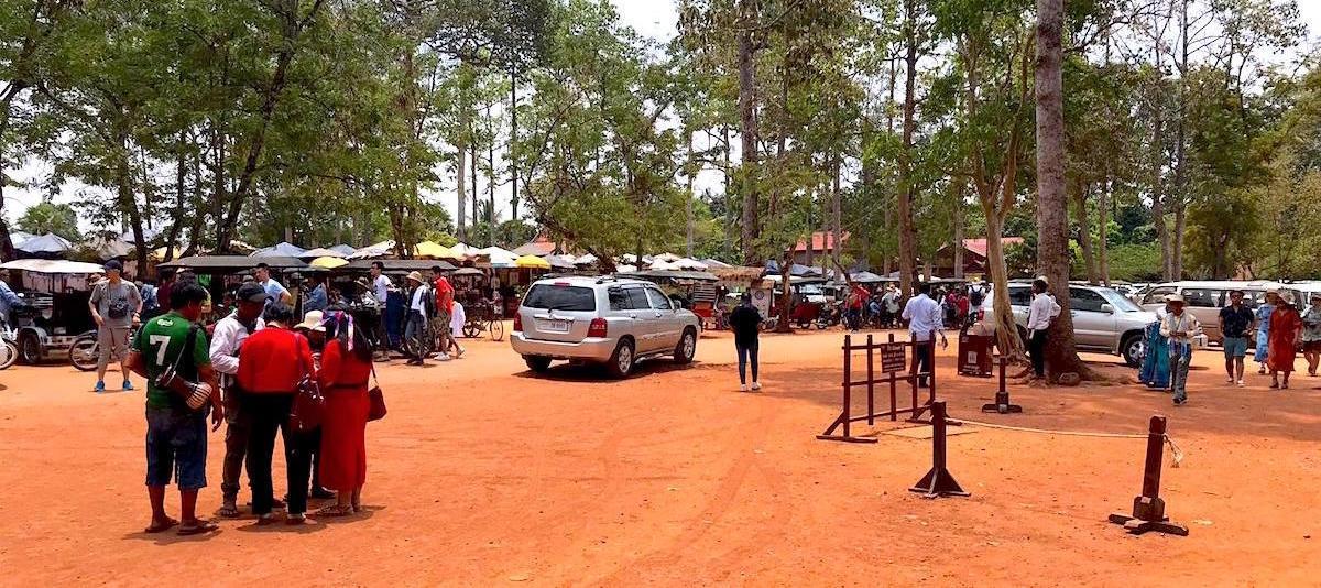 Angkor Archaeological Park Waiting Area