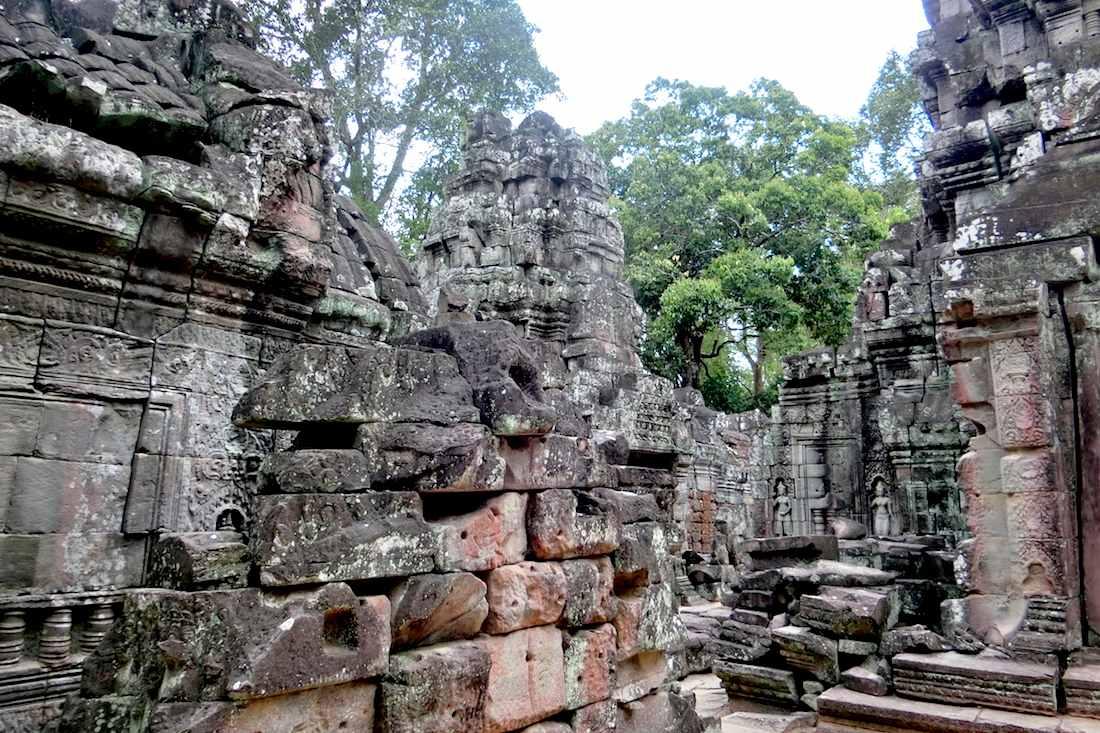 Angkor Ta Som Inner Gallery