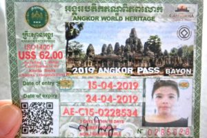 Angkor Wat Ticket
