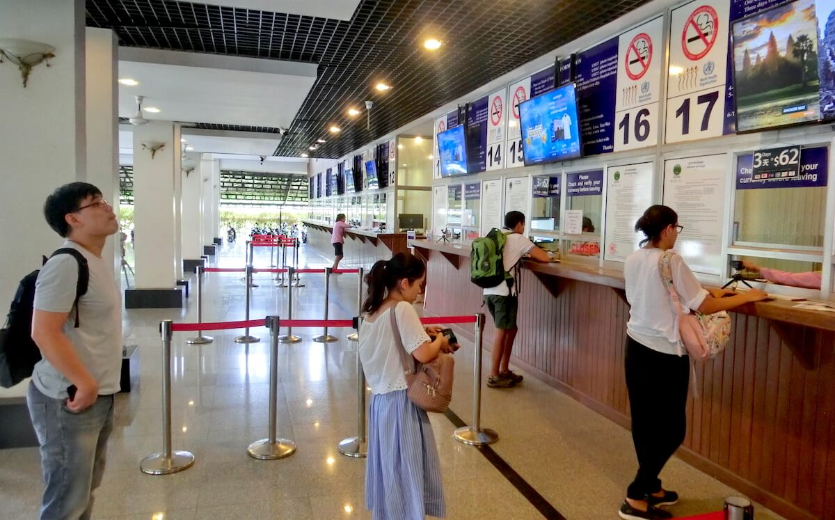 Angkor Wat Ticket Office 1 - 17