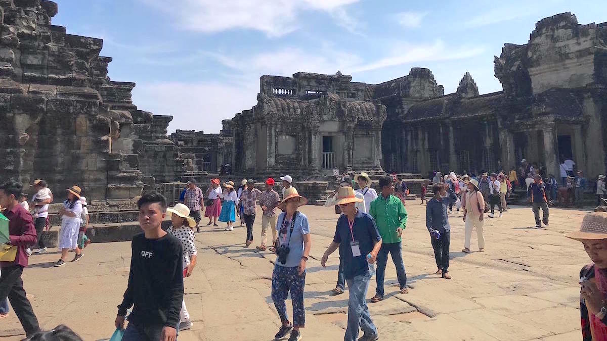 Angkor Wat Visitors