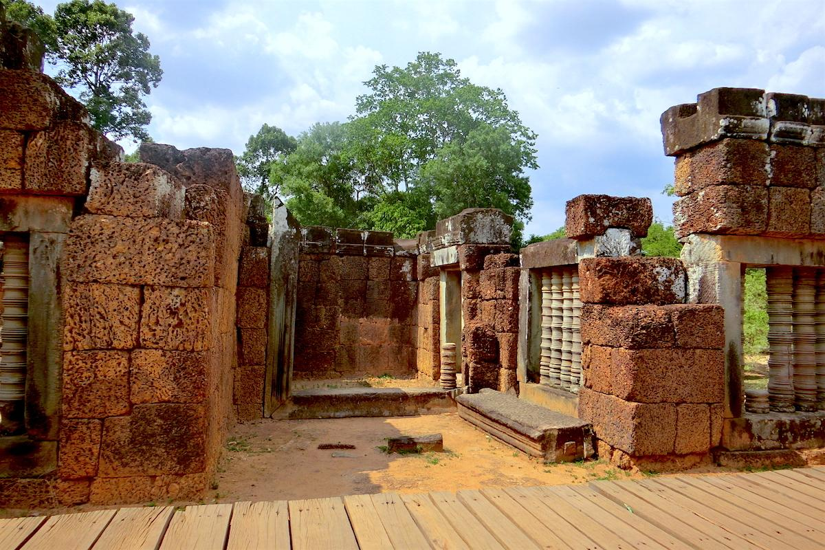 East Mebon Interior Cambodia