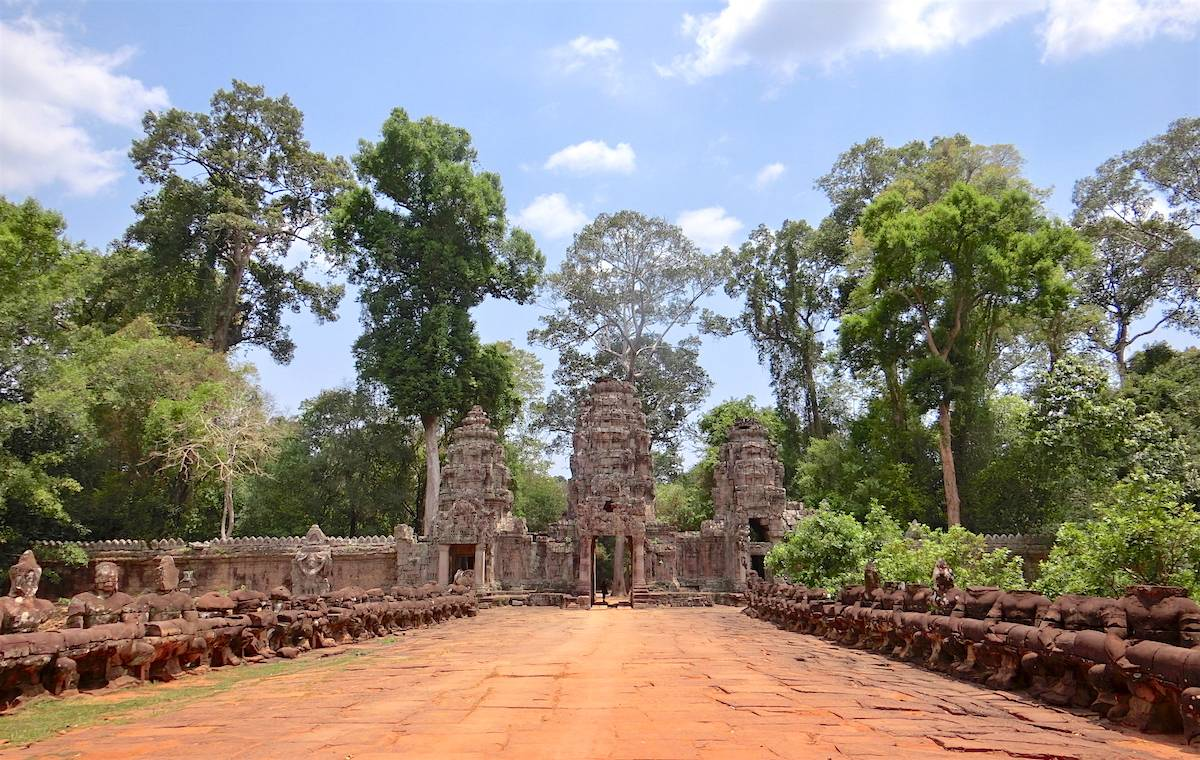 Preah Khan Angkor Entrance