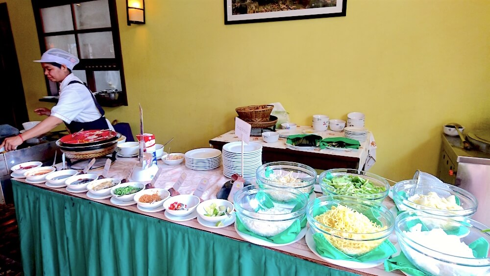 Soup Station - Buffet Breakfast @ Royal Crown Hotel Siem Reap