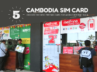 Best Cambodia Tourist Sim Card Prepaid Mobile Internet Data