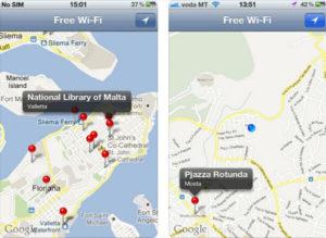 Malta WiFi App