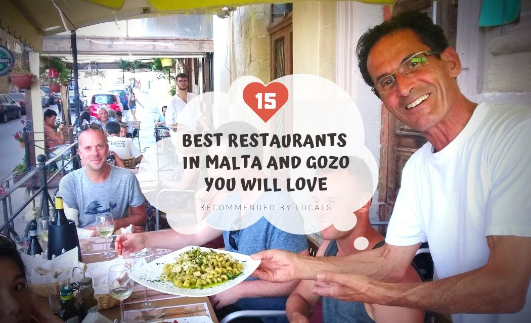 15 Best Restaurants in Malta & Gozo You Will Salivate As I :DiD Recommended by Locals