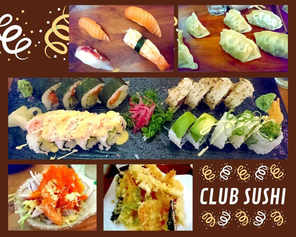 Club Sushi St Julian's