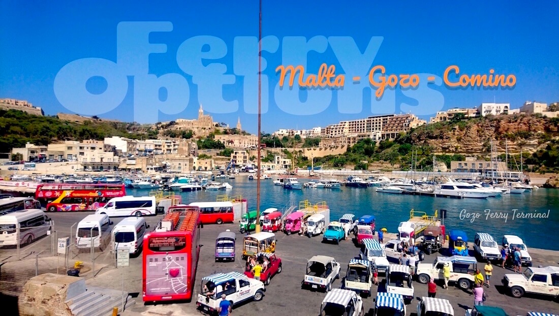 4 Ferry to Mgarr Gozo & Comino from Malta Cirkewwa Ferry Terminal