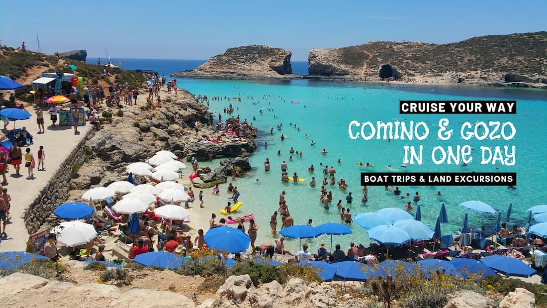 Comino and Gozo Boat Trips to Cruise Your Way in One Day