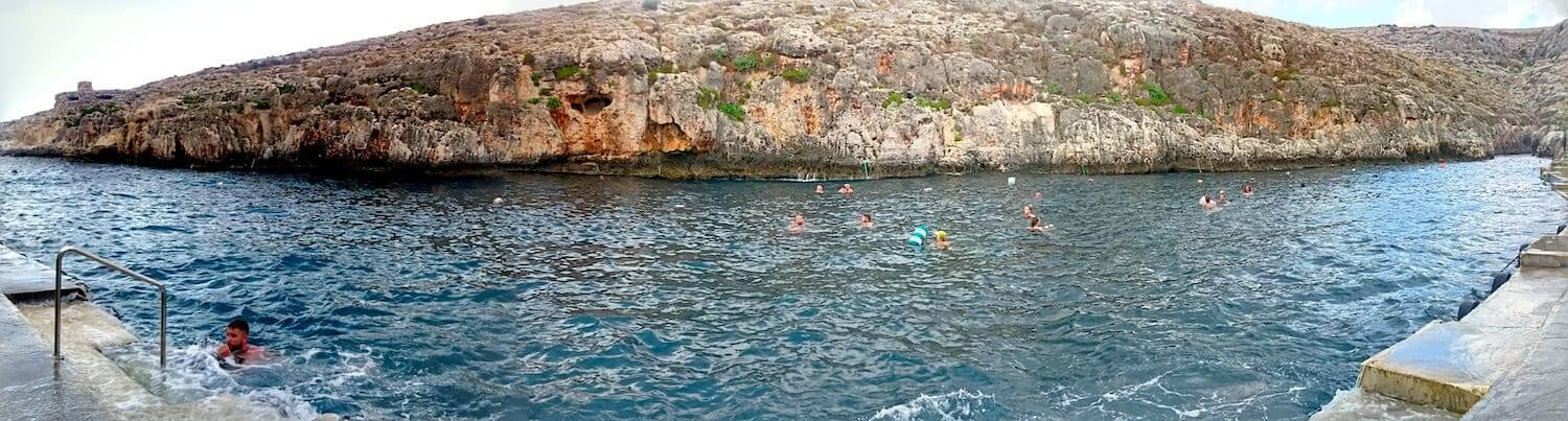 Blue Grotto Swimming