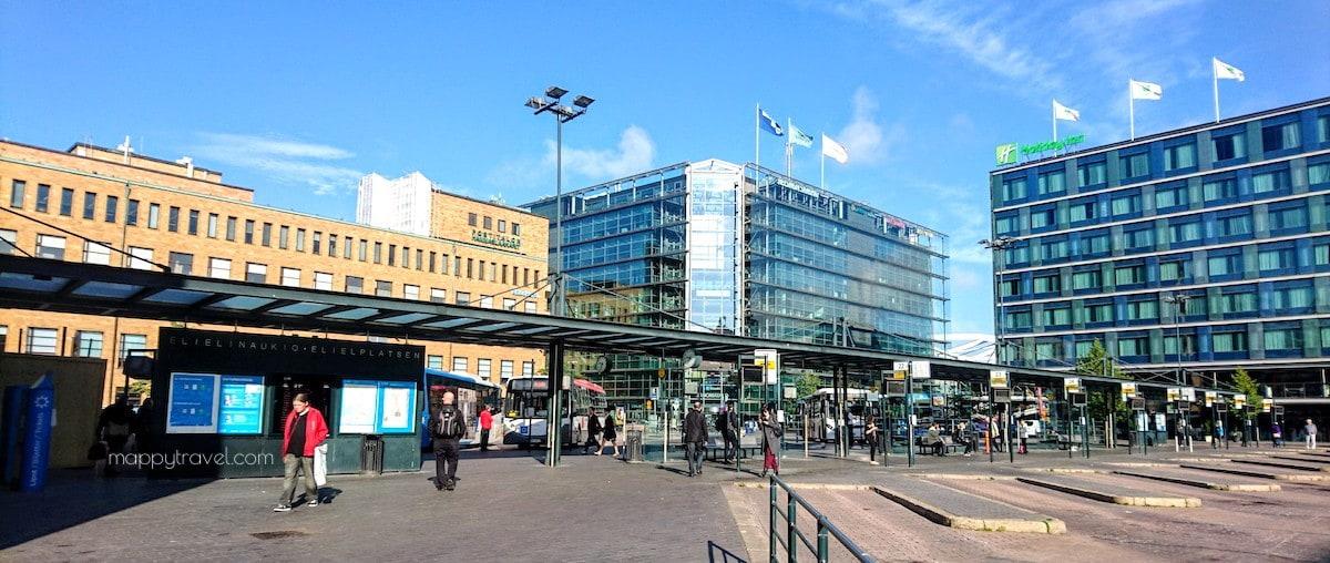 Finnair City Bus Station