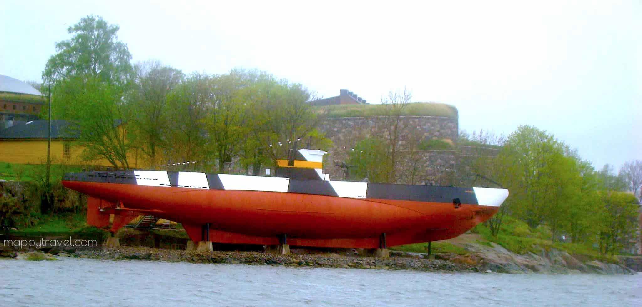 Last Finnish Submarine Vesikko