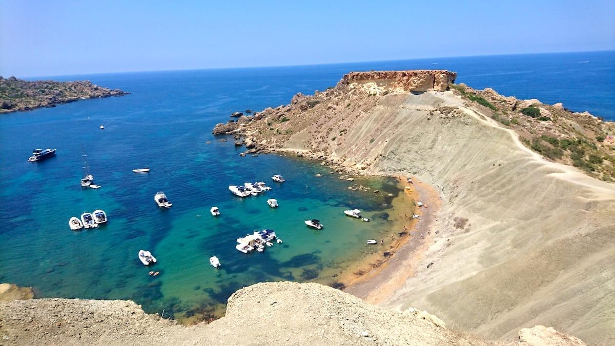 Għajn Tuffieħa Bay Cliff