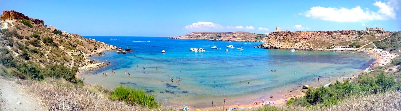 Għajn Tuffieħa Bay (Riviera Beach) Malta