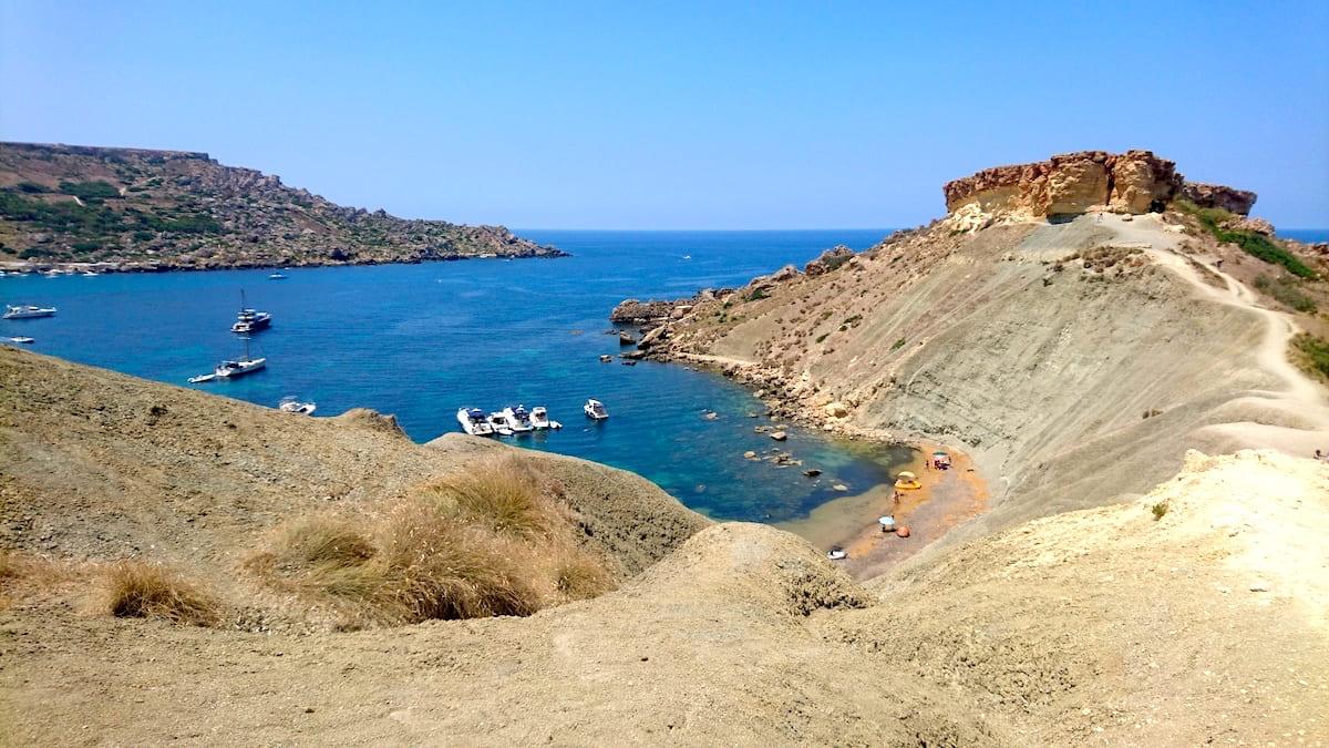 Għajn Tuffieħa Bay Top
