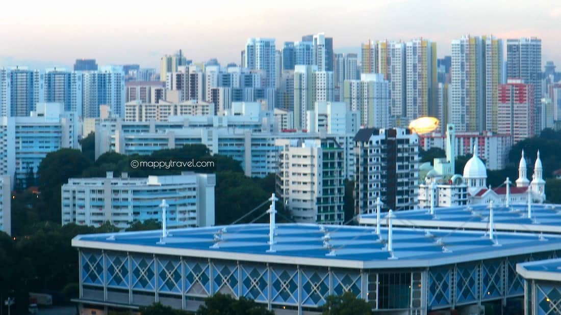 View from Prima Tower: HDB Flats
