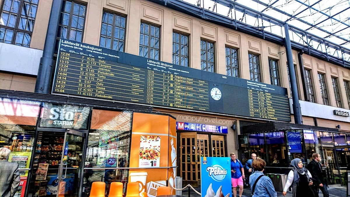 Helsinki Central Railway Station Train Schedule