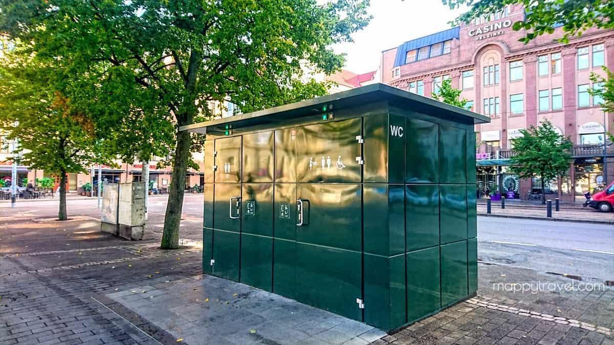Free Public Toilet in Helsinki City
