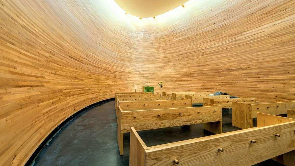 Helsinki Kamppi Chapel of Silence