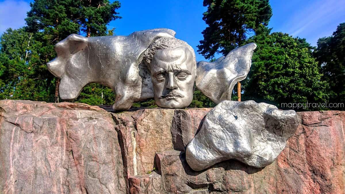 Jean Sibelius Sculpture