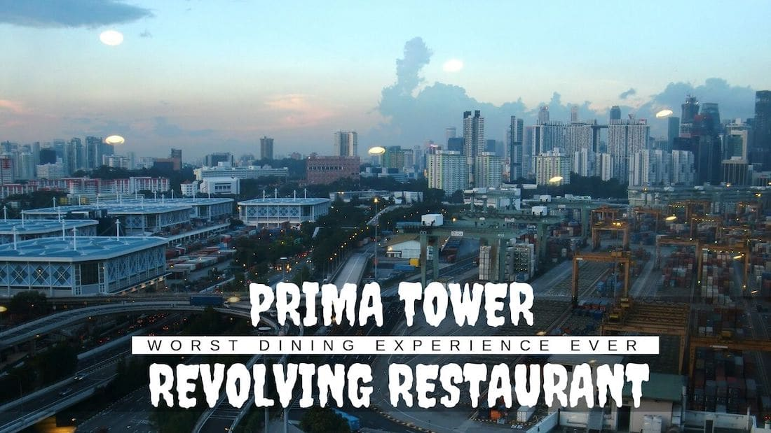 Prima Tower Revolving Restaurant: The Worst Dining Experience Ever