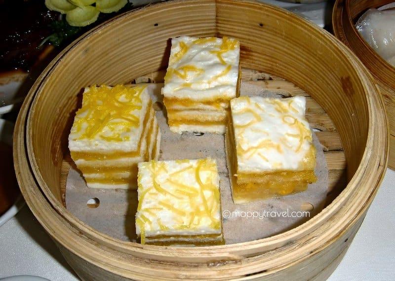 Steamed Custard Layered Cake   奶皇千层糕