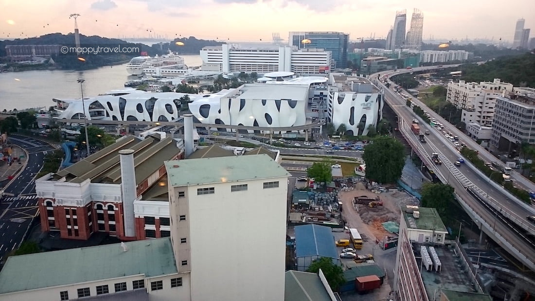 View from Prima Tower: VivoCity
