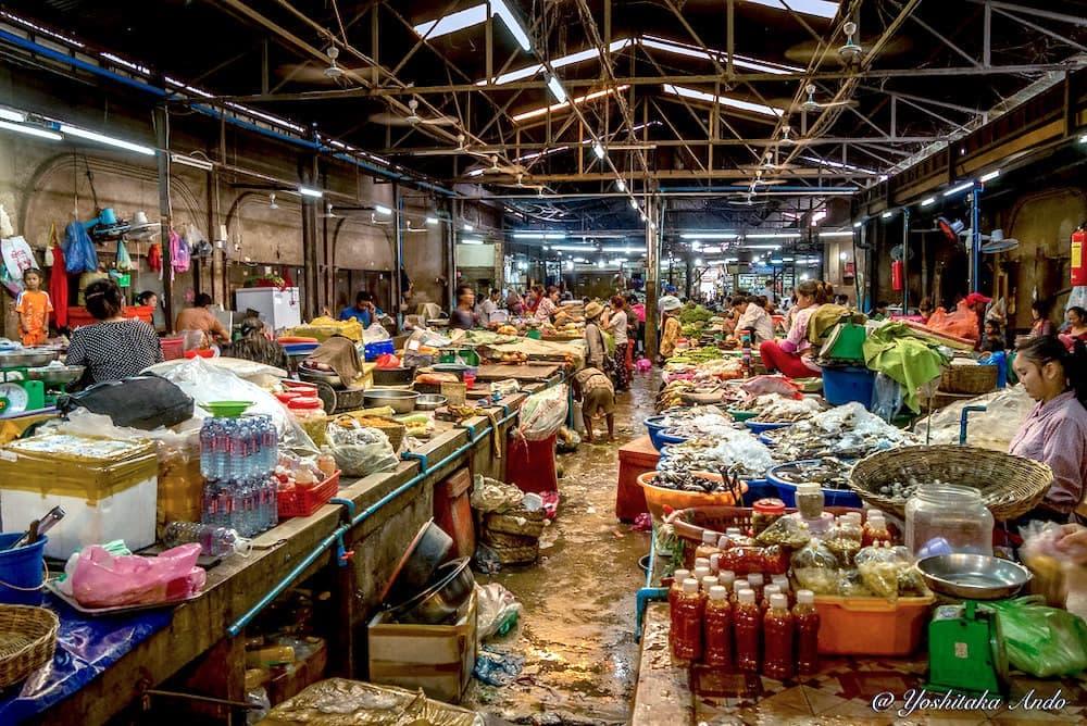 Old Market Siem Reap (Psar Chas)