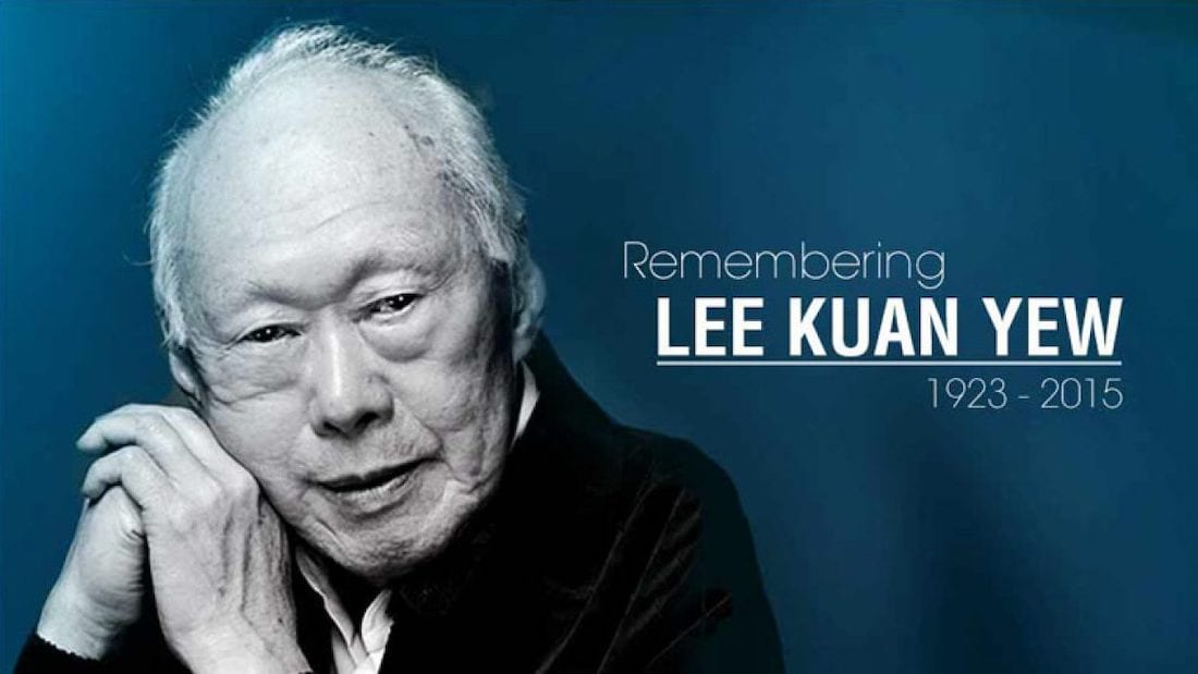 Sad Goodbye to Mr Lee Kuan Yew – Father of Singapore