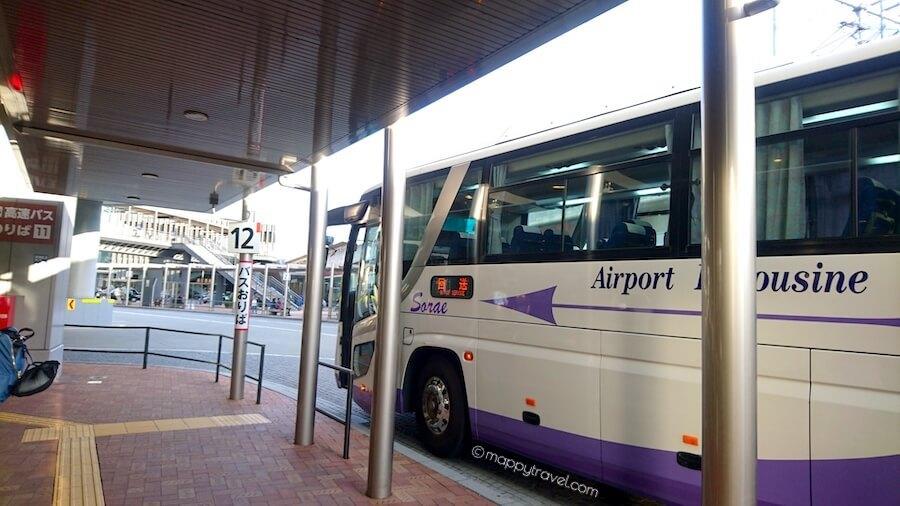 Shinki Bus Drop-off Bus Stop @ Himeji Eki Mae Bus Stop Beside Himeji Station