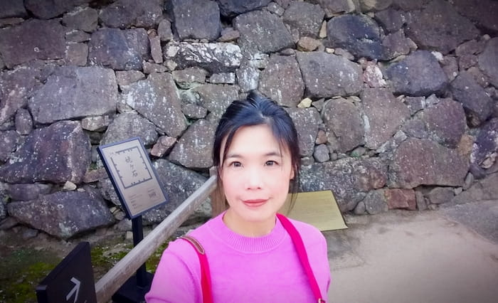 Old Widow's Stone - Ubaigashi @ Himeji Castle