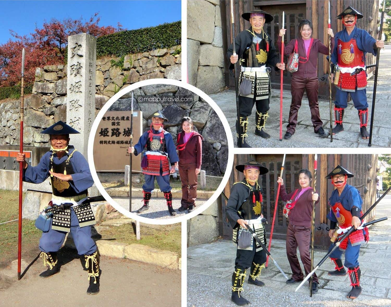 Warriors @ Ote-mon Gate Himeji Castle