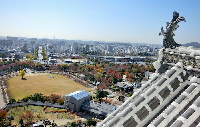 Sachi @ Roof Top Tip of Himeji Castle