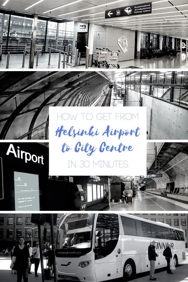 Helsinki Airport Transfer (Pinterest)